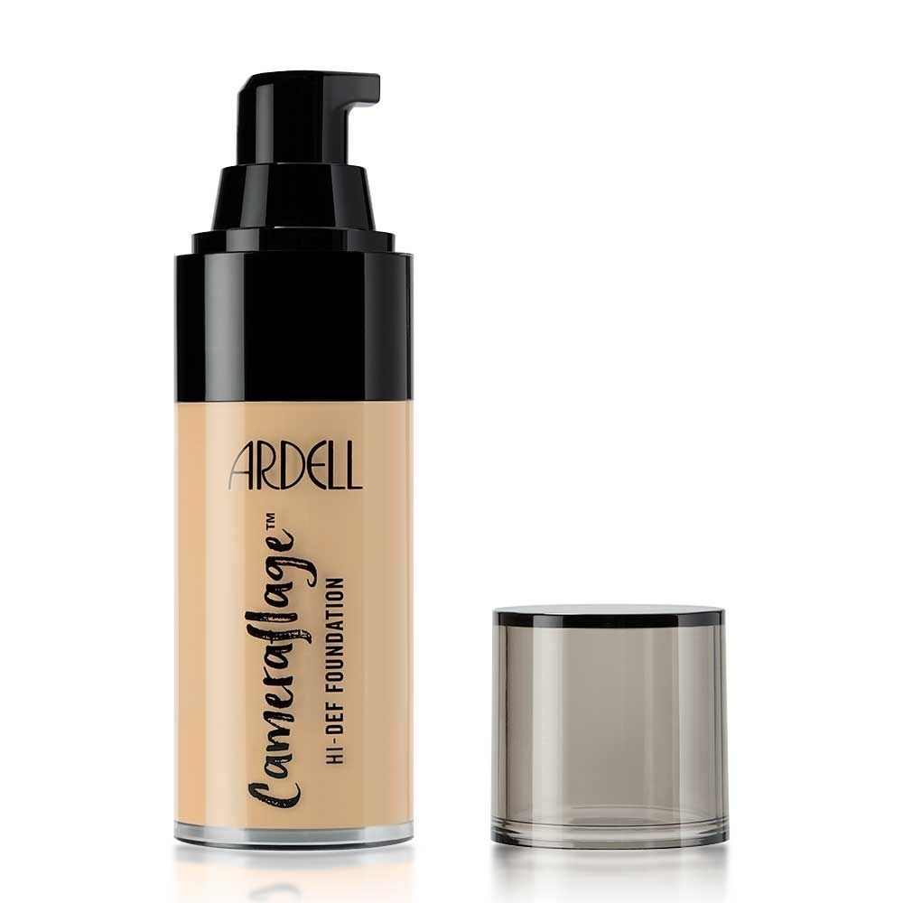 ARDELL BEAUTY CAMERAFLAGE FOUNDATION FOND DE TEN FDT LIGHT 3