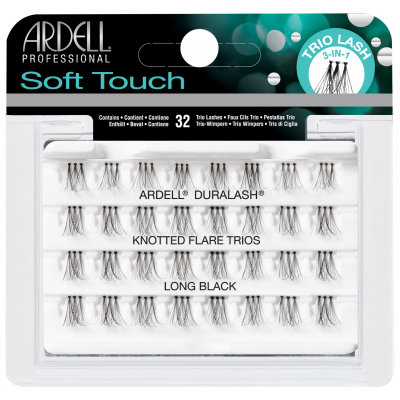 Gene False Ardell Manunchiuri Smocuri Trios Soft Touch cu nod L